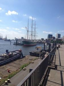 Ausflug zum Hamburger Hafen